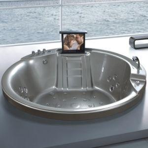 Современный открытый в раскрывающемся списке акриловые ванны (SR5C002)