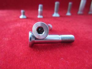 DIN 933 Gr5*100M20 en alliage de titane fixations (vis de l'écrou&&rondelle)