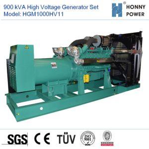 900ква генератором высокого напряжения установлен двигатель Googol 10-11кв с 50Гц