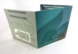 Подключите флэш-накопитель USB карты бумаги 4c со смещением на обеих сторонах с ламинированием 300 граммов карты