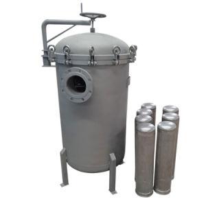 Multi-Bag SUS304 / SUS316L SS do alojamento do filtro para filtro de Tratamento de Água
