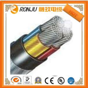 Cavo elettrico ignifugo corazzato isolato PVC del nastro d'acciaio