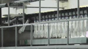 Нитриловые перчатки автоматическая машина производственной линии медицинские перчатки