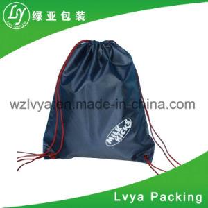 둥근 다채로운 폴리에스테 Foldable 쇼핑 끈달린 가방