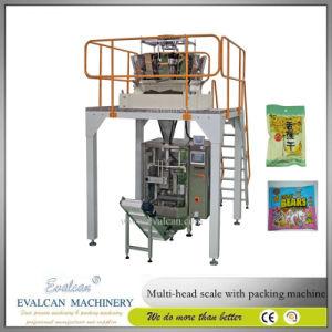 Le snack-entièrement automatique, les noix, granule, Sachet Pochette d'aliments formant l'emballage de pesage d'étanchéité de la machine de remplissage, l'emballage pour le riz et de sucre de la machine