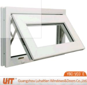 Vinylfenster für Verkauf kleines Belüftung-Markisen-Plastikfenster mit ausgeglichenem Glas