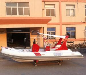 Liya 19feet Center Console Rigid Rubber Boat Speed Rib Boat