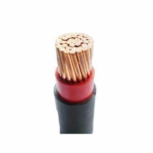 BS6004 com isolamento de PVC padrão de cobre do fio do Prédio Elétrico