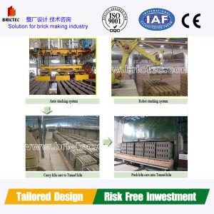 Forno de túnel para a queima de tijolos &telhas