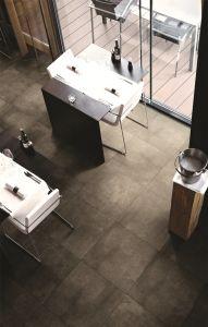 het Cement van 600X600mm kijkt de Rustieke Verglaasde Ceramische Muur van het Porselein/de Tegel van de Vloer (CLT606)
