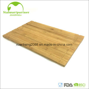 Tabla de cortar de bambú de la junta de corte de madera de cocina