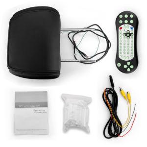 7pulg./9pulgadas Monitor Reposacabezas Reposacabezas reproductor de DVD con almohada y zipper