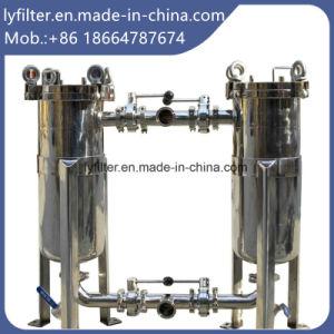 Industrieller Edelstahl-mehrfaches multi Beutelfilter-Gehäuse für Nahrungsmittelwasser-Filtration-Systeme