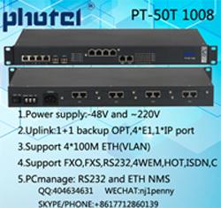 30チャネルFXO/FXS PCMのマルチプレクサ