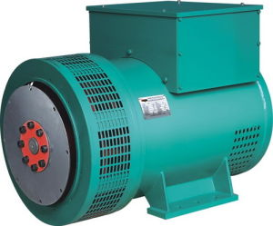 100%の銅の単一か二重ベアリングStamford/LeroysomerタイプブラシレスAVRの交流発電機