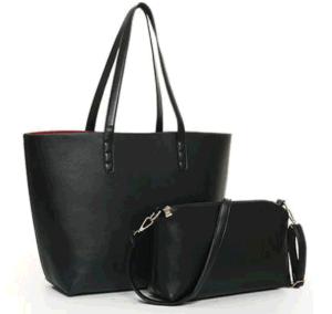 PUの女性ショルダー・バッグの倍の側面のハンドバッグ(BDMC162)