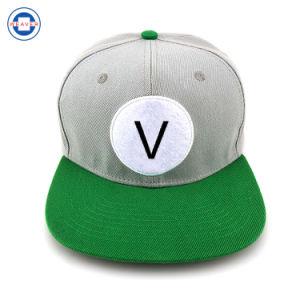 La conception de votre propre panneau 6 de l'acrylique broderie Cap / Snapback de Gros Cap Snapback personnalisé
