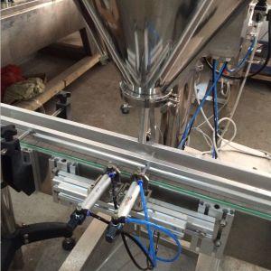 Полуавтоматическая сухой порошок о ходе работы выводится шнека заполнения упаковочные машины