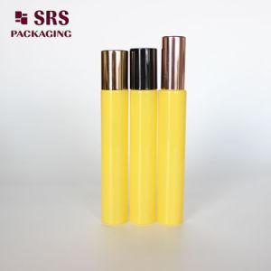 SRS die de Duidelijke Fles van de Rol van het Parfum van het Glas van Fragranc van de Muur van de Luxe van de Kleur 10ml Dikke met de Bal van het Metaal verpakt
