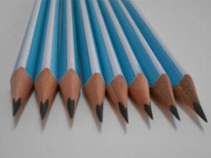 Matita di legno della matita dell'allievo della matita con la matita dell'HB dell'eraser