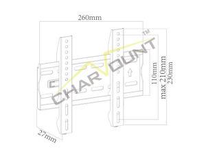 고품질 200X200mm 17  - 42  경제적인 텔레비젼 부류 (CT-PLB-415)