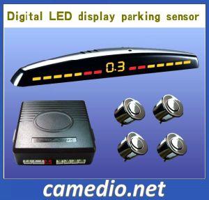 De nieuwe het Omkeren van de Auto van de Stijl Sensor van het Parkeren met LEIDENE Digitale AchterSensoren Display&4