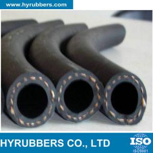 Trenzado de alambre de acero inoxidable y conexiones de mangueras hidráulicas de goma