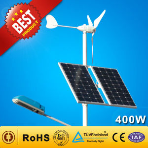 Wind ibrido Solar Generator per Pump/Streetlight/Base Station (300W+100W)