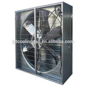 50 pollici Axial Shutter Exhaust Fan per Farm