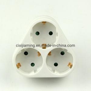 Jm-GB01/03alemán un adaptador de corriente tipo de adaptador de 3 vías 3*16A