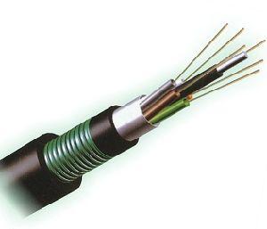 Comunicación exterior blindada 36 núcleo de fibra óptica Cable GYTA conducto