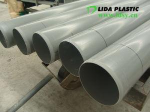 UPVC Drainage des eaux de tuyau de ventilation chimique de l'irrigation Wirh de grand diamètre du tuyau de PVC