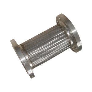 Metallumsponnener flexibler Schlauch mit Flansch-Ende