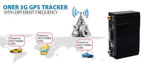 別の頻度のOner 3G GPSトラック