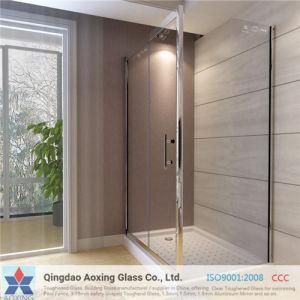 공간 또는 Ecid 샤워 문 샤워실을%s Eched 단단하게 하는 강화 유리