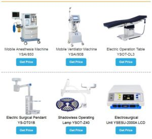 Hôpital médical Ysenmed One-Station Shopping de l'équipement
