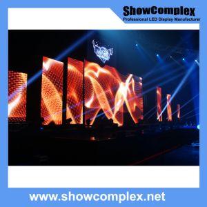 P2.5 P2.9 P3.9 Cores interiores LED grande visor de vídeo com painel de leve para concertos