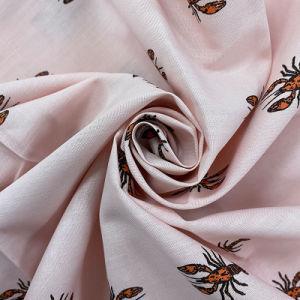 Насекомое узором Shirting высокое качество CVC футболка ткань