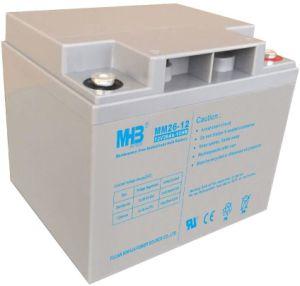 12V26ah Bateria de chumbo-ácido livre de manutenção para UPS/ Sistema de segurança
