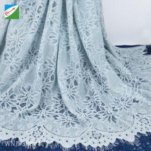 Encaje Elegante vestido de boda para mayoristas de tela o paño de encaje