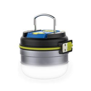 Pilha recarregável USB multifuncional Camping Lanterna de emergência exterior da luz de desligar a lâmpada de tenda com íman