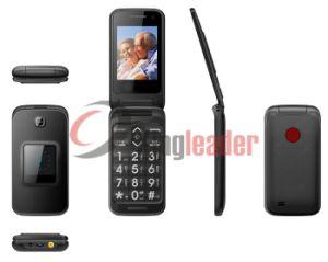 2.4 de pantalla dual GSM Senior Flip Phone (W30).