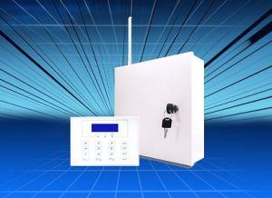 16 het getelegrafeerde Systeem van het Alarm van Streken 29wireless met LCD Toetsenbord (S-816LCD)