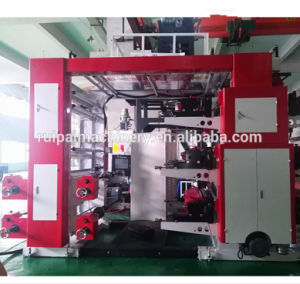 Venda de 6 cores de alta velocidade de Filme Plástico Non-Woven Flexo máquinas rotativas de impressão de papel
