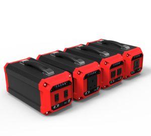 La energía solar de la batería del sistema de suministro de energía solar con el cargador