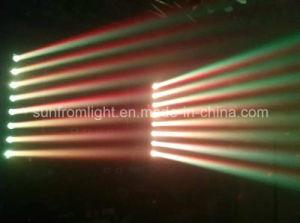 8ヘッド線形LEDのビームディスコの照明