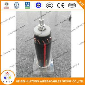 UL 1072 1/0Padrão AWG 2/0AWG 15kv Urd Tipo de cabo de alimentação