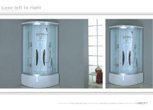 Baño con ducha / cabina de ducha/baño de vapor (HX-8003)