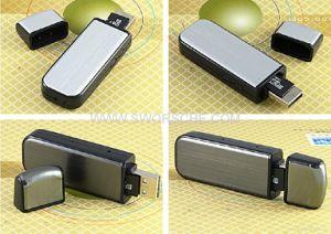 Macchina fotografica del disco istantaneo del USB con Nightvision e l'audio registrazione separata