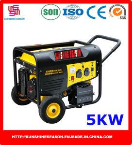 5 квт бензиновый генератор (SP12000E2) для дома и внешний источник питания